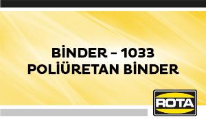 BINDER 1033POLIURETANBINDER