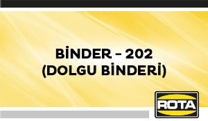BINDER 202(DOLGUBINDERI)