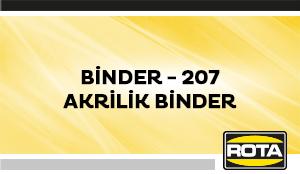 BINDER 207AKRILIKBINDER
