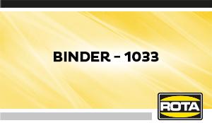Binder 1033