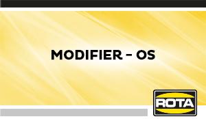 Modifier OS
