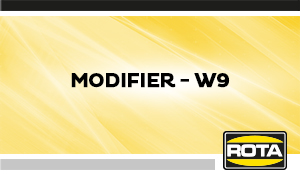 Modifier W9