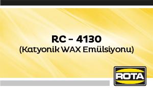 RC 4130KATYONIKWAXEMULSIYONU