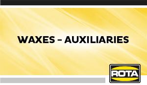 Waxes Auxiliaries