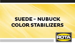 Suede NubuckColorStabilizers